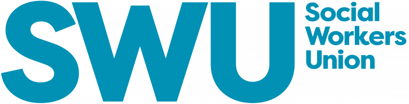 Social Workers Union (SWU) colour logo