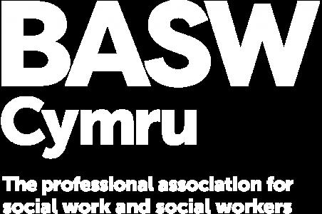 BASW Cymru white logo