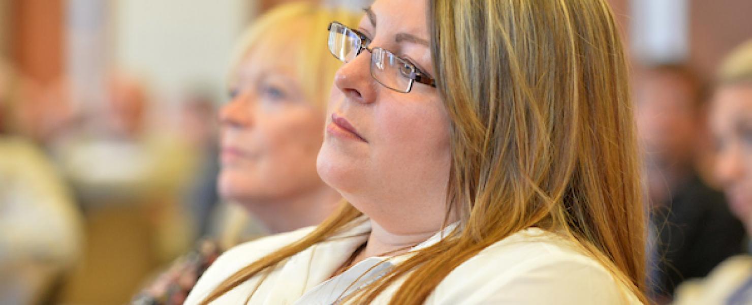 BASW Member listening to speaker