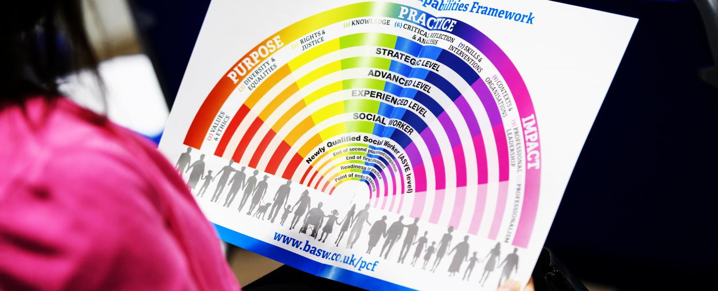 PCF fan graphic shown in event programme