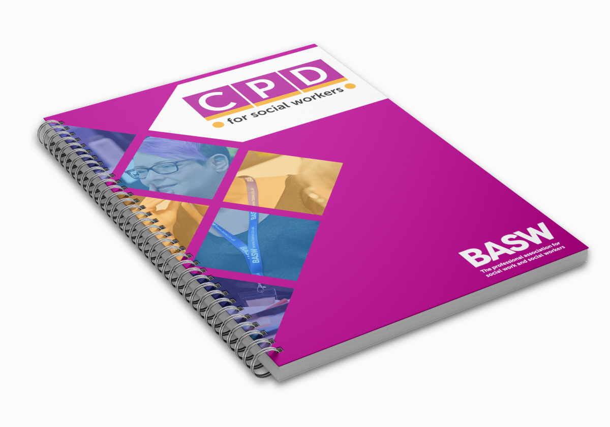 CPD for social workers folder