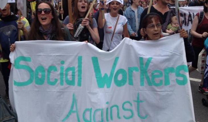 Social work, activism