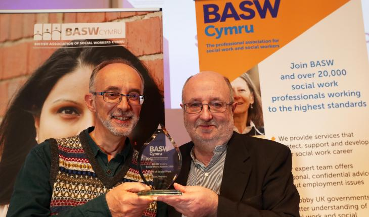 Don't be afraid to show your fragility says award-winning social worker    BASW