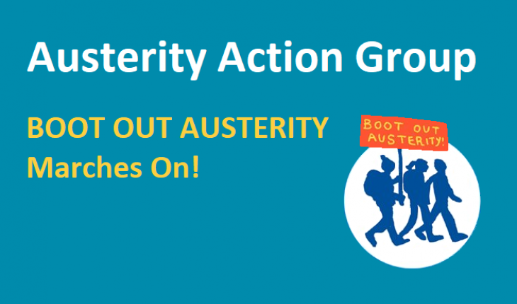 Austerity Action Group - Boot Out Austerity marches on!