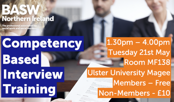 Competency based interview training