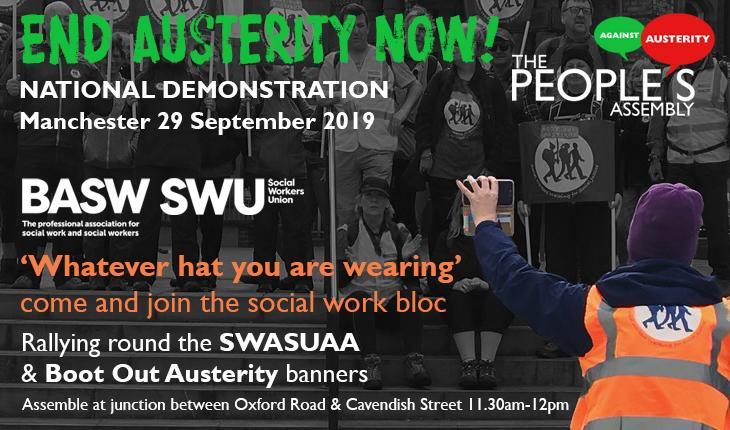 End Austerity Now 2019 protest march