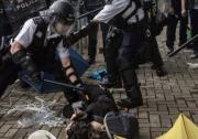 Hong Kong violence protest police social workers IFSW