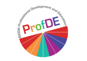 Professional Development and Education (ProfDE) Logo