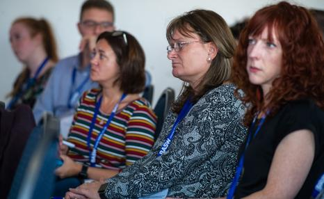 BASW England Conference 2018 audience