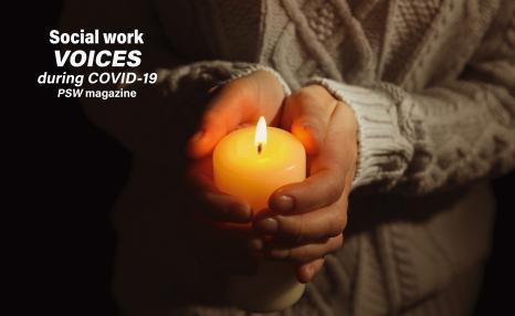 Coronavirus, social work, stories, videos, poems, photographs