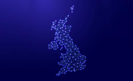 Around the UK network map
