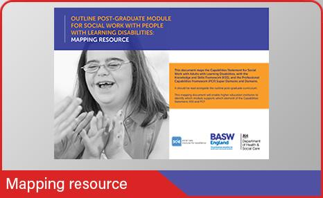 Learning disabilities mapping resource