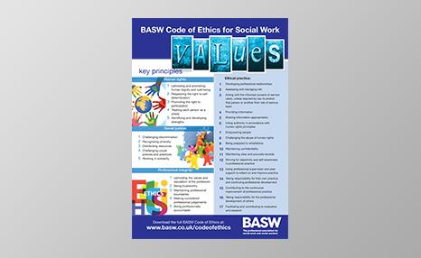 BASW Code of Ethics poster