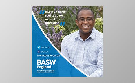 BASW England promotional poster