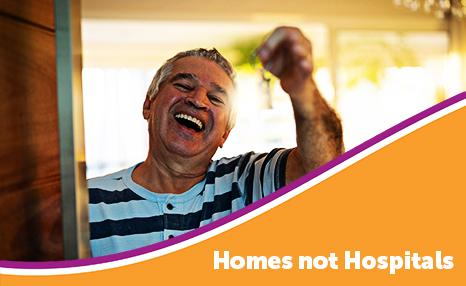 Homes not Hospitals campaign
