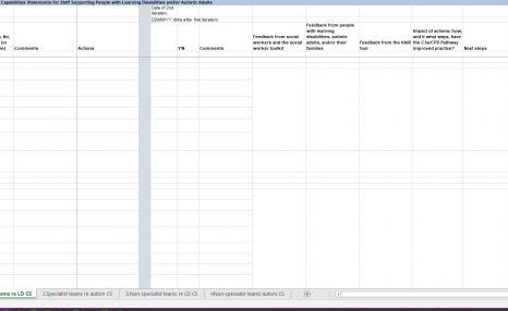 Organisational self-assessment tool