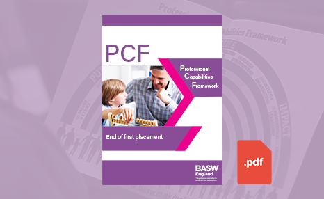 PCF - End of first placement (PDF) front cover