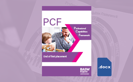 PCF - End of first placement (MS Word) front cover