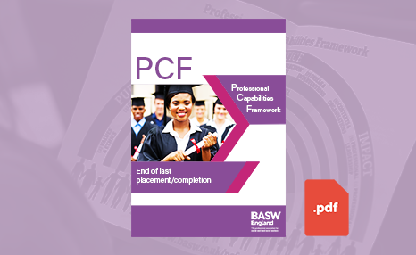 PCF - End of last placement/completion (PDF) front cover