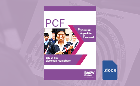 PCF - End of last placement/completion (Word) front cover
