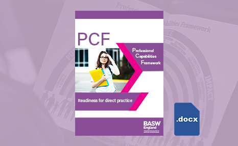 PCF - Point of entry to training (PDF) front cover