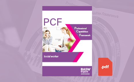 PCF - Social worker (PDF) front cover
