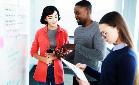 Professional leadership: People in training/meeting