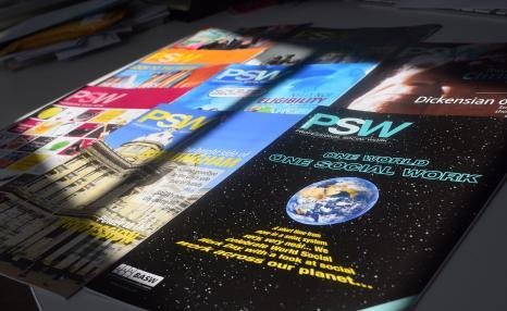 PSW Magazine front covers