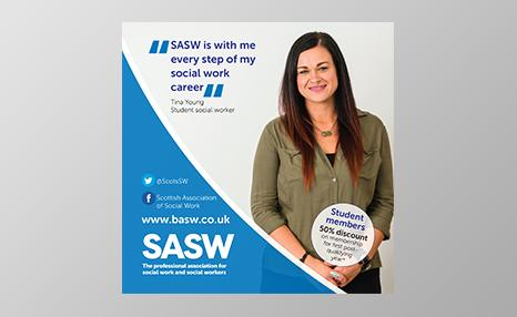SASW student promotional poster