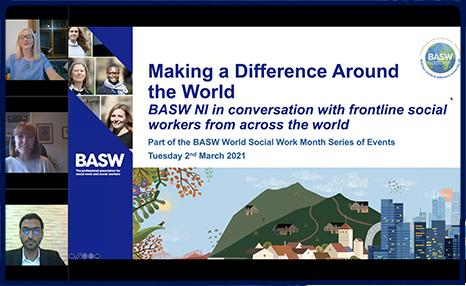 BASW Northern Ireland Making a Difference Around the World